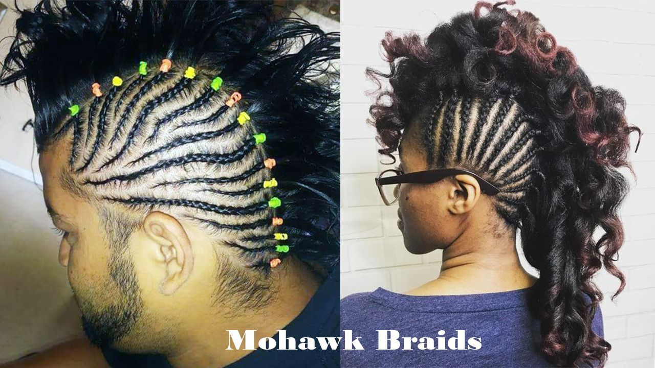 Pictures Untapped Goldmine Of Mohawk Braids Hairstyles New Natural Hairstyles Hair Styles Natural Hair Styles Braided Hairstyles