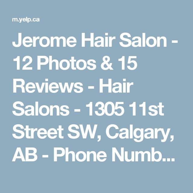 Jerome hair calgary