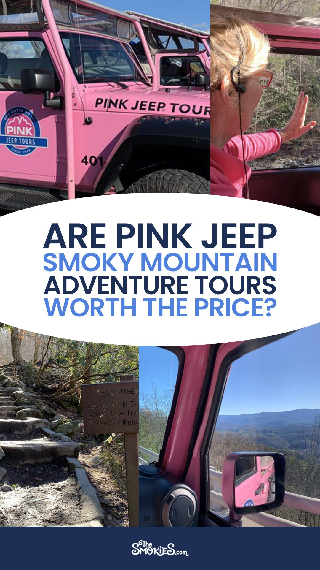 Are Pink Jeep Tours Worth The Price In 2021 Pink Jeep Smokies Smoky Mountains
