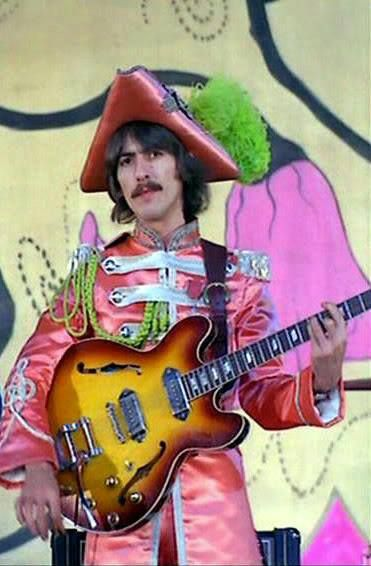 We All Live In A Yellow Submarine Yellow Submarine Beatlefour Peppered 1967 Nove The Beatles Sgt Peppers Lonely Hearts Club Band Beatles George Harrison