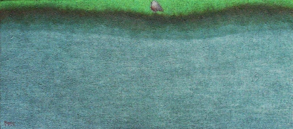 GUIDO MORELLI pittore contemporaneo: PAESAGGI olio su tela
