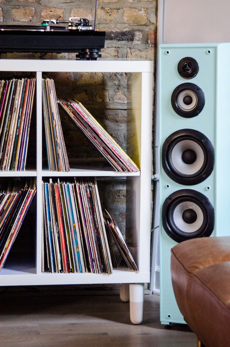 A Minimalist Vinyl Record Storage Idea Cuddlepill Ikea Storage Storage Hacks Record Storage