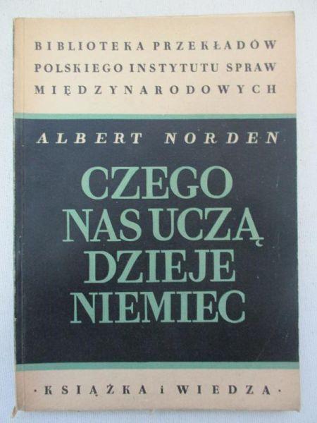Norden Czego Nas Ucza Dzieje Niemiec 6777210672 Oficjalne Archiwum Allegro Books Book Cover Norden