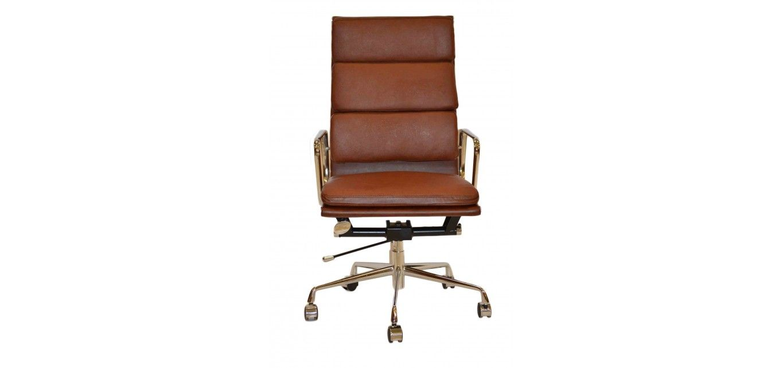 Eames ea219 inspired high back soft pad vintage brown
