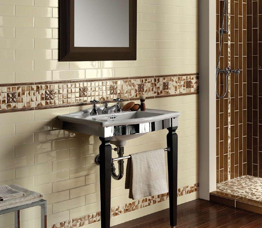 Tile Decoration Ceramiche Grazia Tile Composition  #bathroom #tile #design