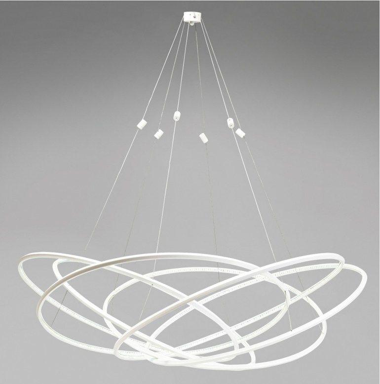 LED Aluminium Pendant Lamp SPIRY LED By KARE DESIGN