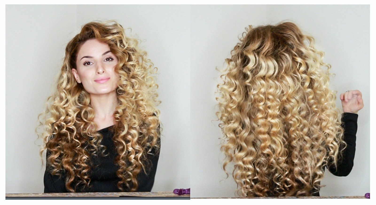 How To Fake Big Naturally Curly Hair With Subs Super Curly Hair Curly Hair Styles Curly Hair Styles Naturally