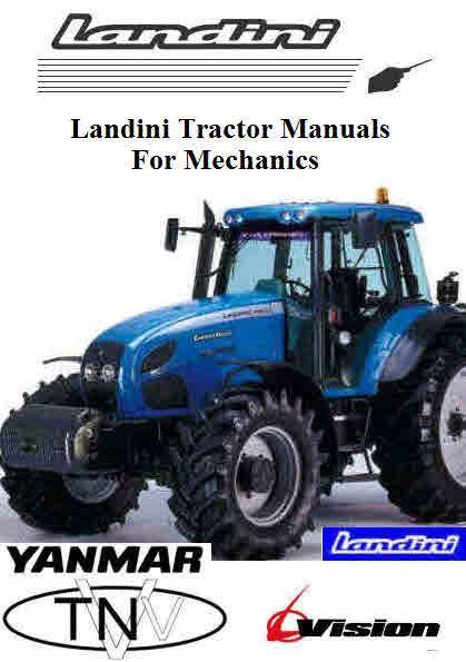 Landini Tractor Manuals For Mechanics Tractors Repair Manuals Mechanic