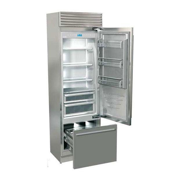 Watershed Appliance Fhiaba Xi5990tst6iu 24 Xi Pro Bottom Freezer Stainless Rhh Glass Door Refrigerator Industrial Kitchen Rustic Industrial Kitchen
