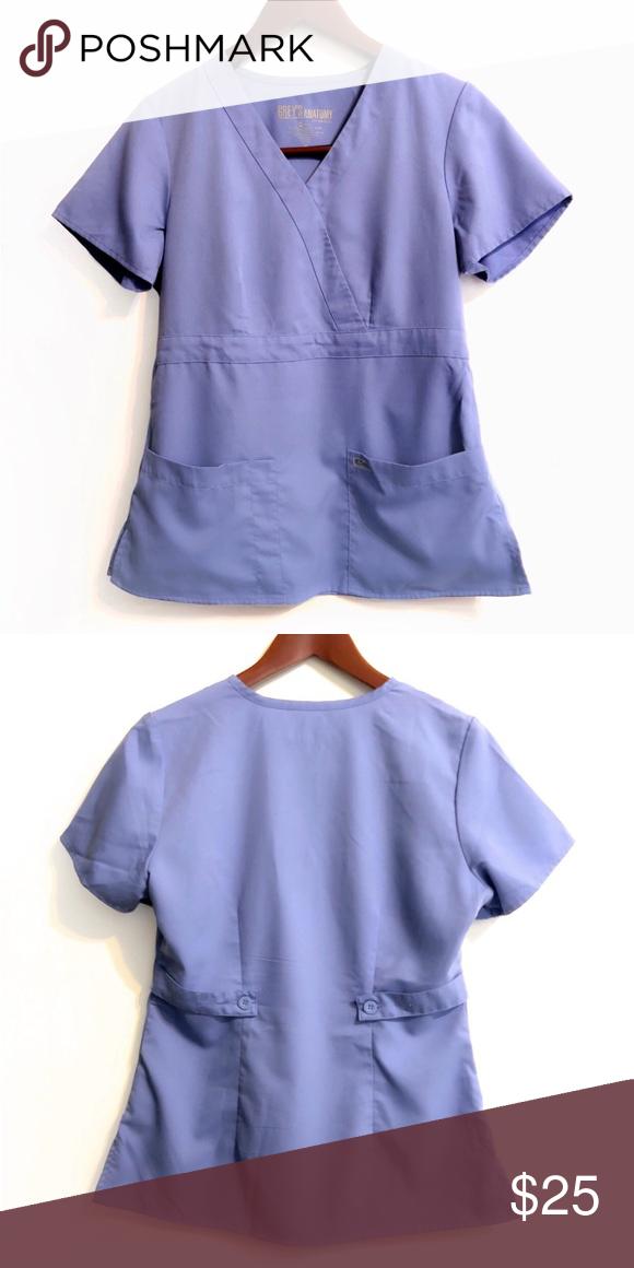 ⚡️Flash Sale⚡ Grey\'s Anatomy Scrub Top | Scrub tops, Greys ...