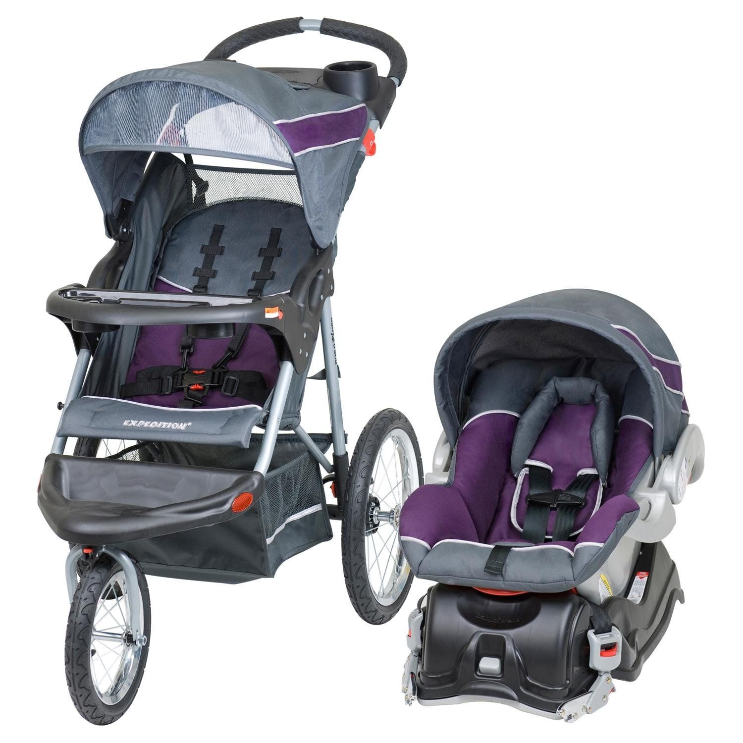 Amazon.com : Baby Trend Travel Jogger System, Elixer : Infant Car ...