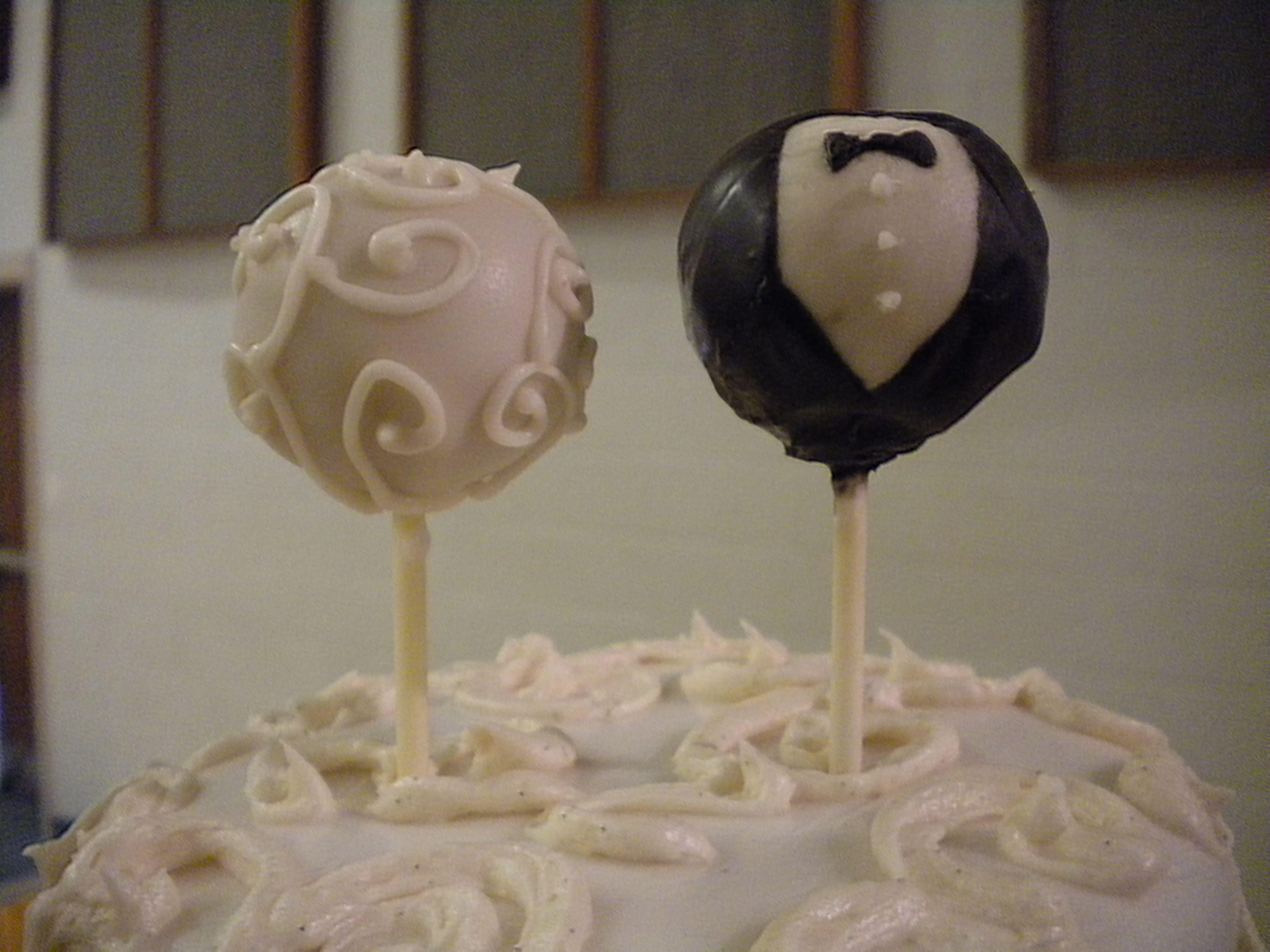 Cake pop wedding topper wedding cake pops cake pops
