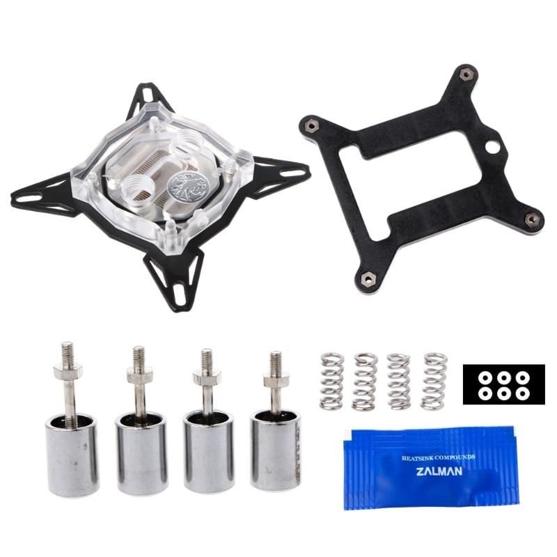 Pc Water Cooling Kit G1 4 Base Inner Channel Pc Water Cooling