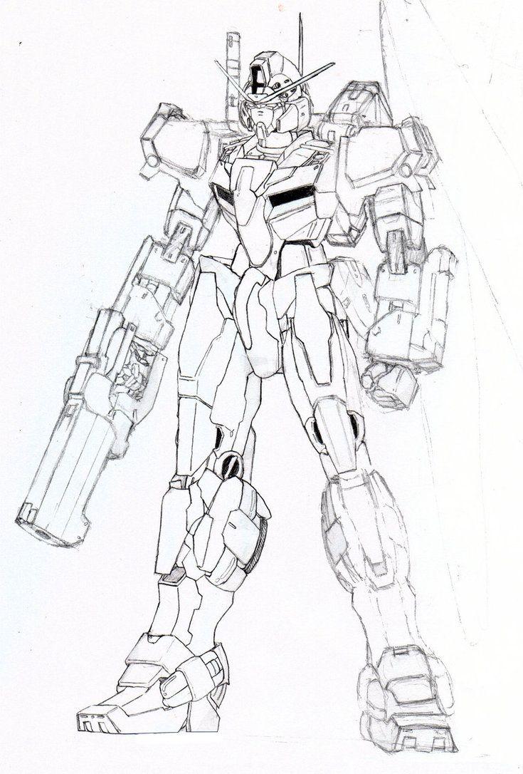 Pin On Blizzard Gundam Mecha
