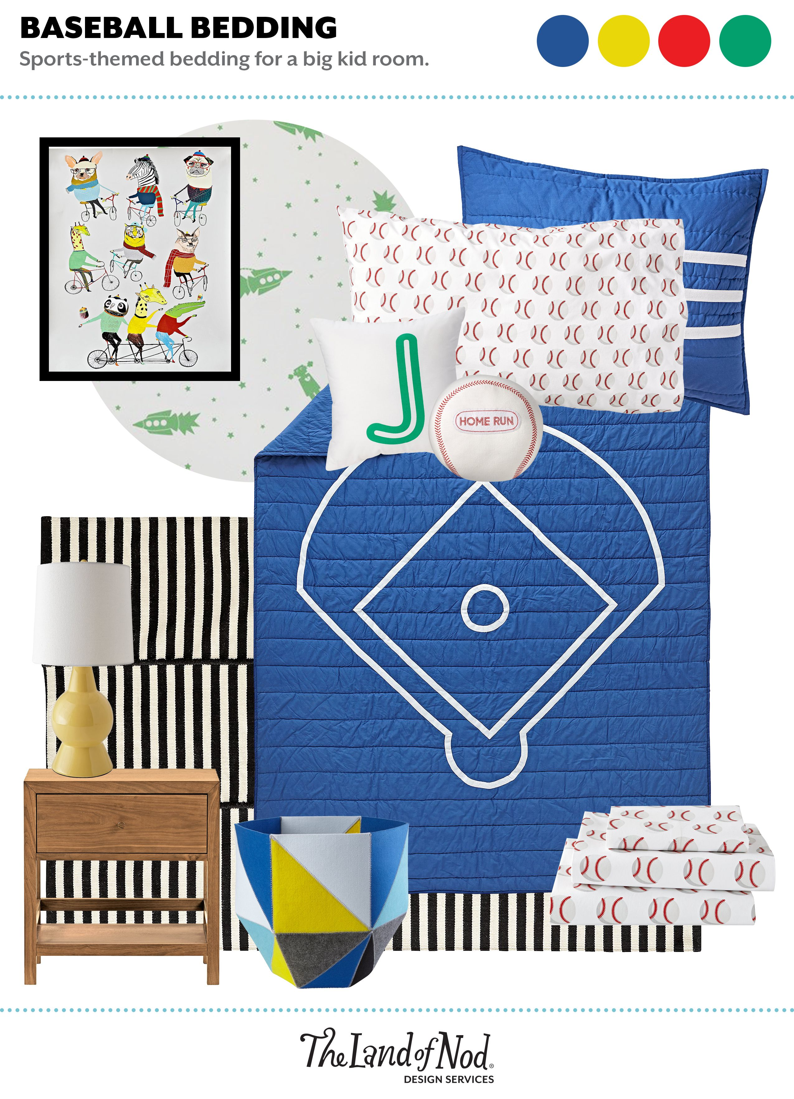 Sports Themed Kids Bedroom Ideas Earth Science Vintage Games And Wiring A Lamp Or Flea Market Wire Ball Bin Set Wh Larkin Nightstand Cool Dude Canvas Banner Bl Natural