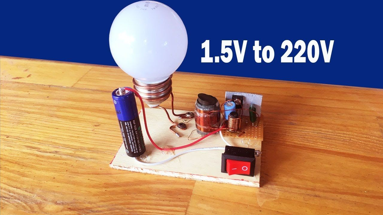 How To Make Easy Inverter 15v 220 Circuit At Home 15 Making A Simple Electronic Projects