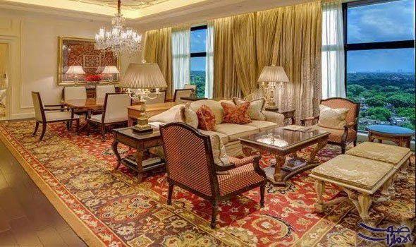 مجموعة من وسائل الراحة الرائعة في فندق ليلا بالاس يقد م جناح مهراجا في فندق ليلا بالاس في نيودلهي الكثير من ال House Interior Delhi Hotel Living Room Designs