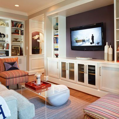 projector entertainment center design ideas pictures remodel and decor page 10 - Entertainment Center Design Ideas