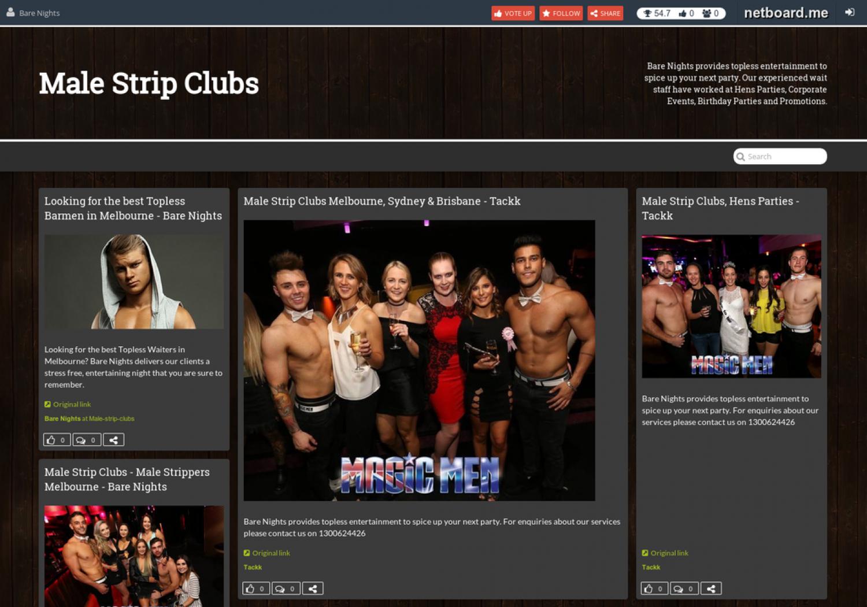 Men strip clubs sydney