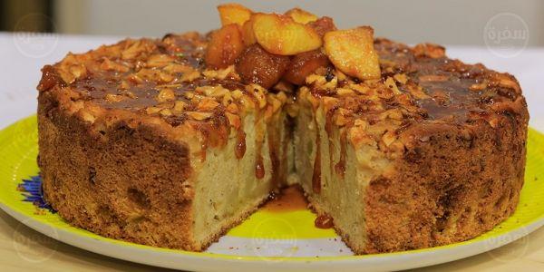 Cbc Sofra طريقة تحضير كيكة التفاح بالقرفة سالي فؤاد Recipe Yummy Recipes Desserts