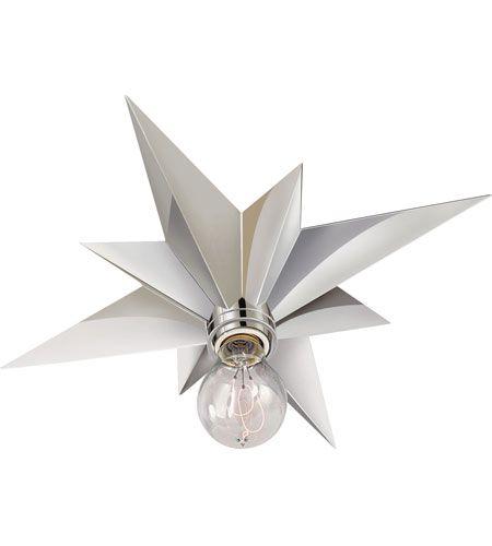 Visual Comfort Sc4000pn Eric Cohler Star 1 Light 15 Inch Polished Nickel Flush Mount Ceiling Light With Images Visual Comfort Flush Mount Ceiling Lights Visual Comfort Lighting