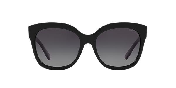 c3ed0863c2b5 Coach HC8264 56 Grey-Black & Black Polarized Sunglasses | Sunglass Hut USA