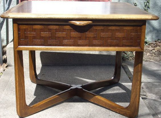 Lane Perception Side Table w/ Drawer 149 in Highlands