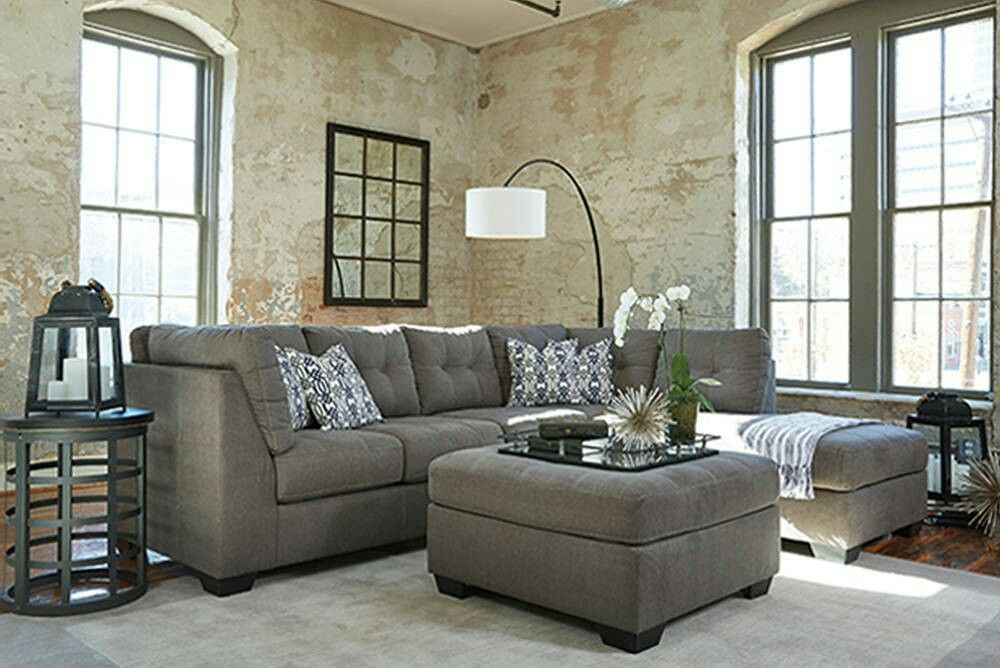 Pitkin Sectional Ashley Furniture Living Room Decor Gray Living Room Sofa Furniture