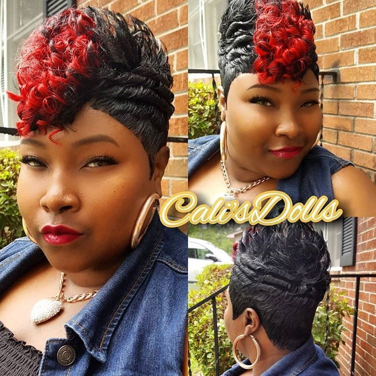 "Cali's Dolls  (shannon) on Instagram: ""#27piece #quickweave #scstylist #shortweave"" #27piecehairstyles"
