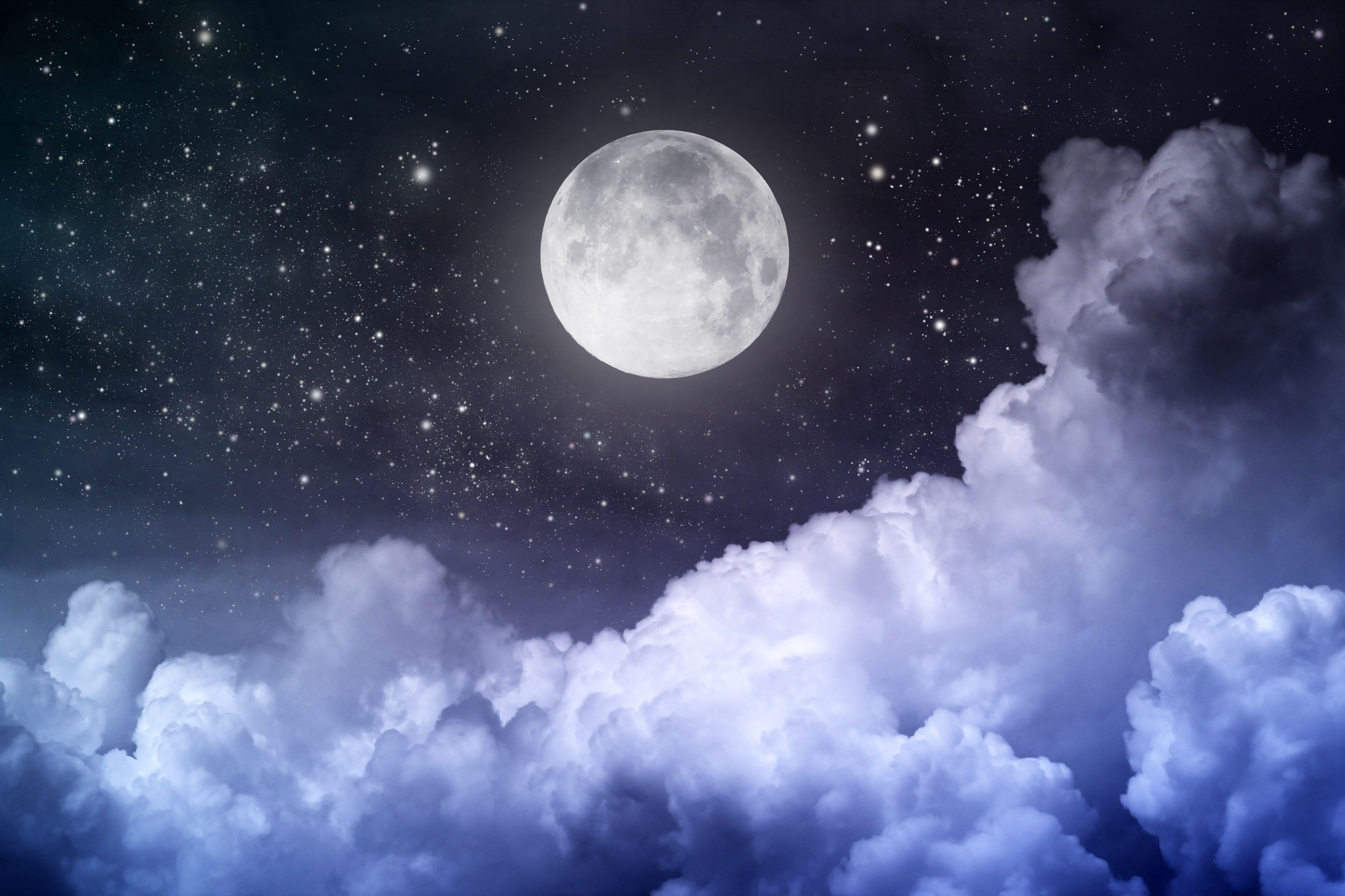 free computer wallpaper for night sky moon, 1792 kB - Reid Sinclair