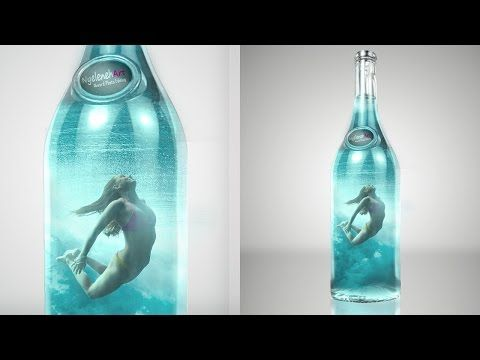 Create Lilliput Underwater Effect in Photoshop - YouTube