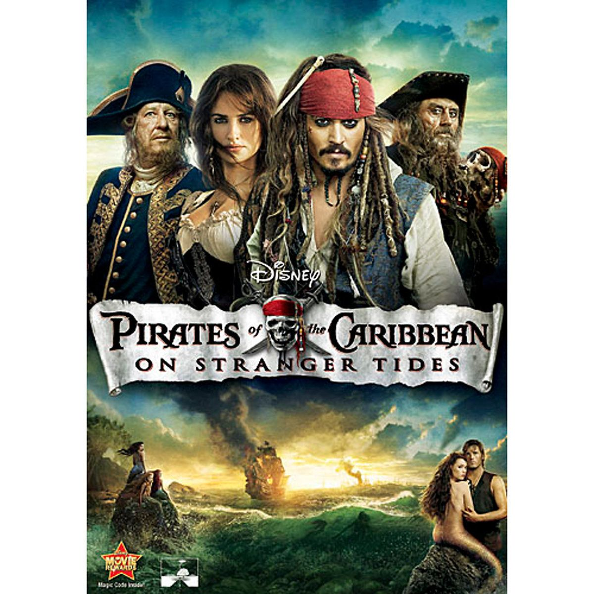 Pirates of the Caribbean: On Stranger Tides DVD in 2019 | M
