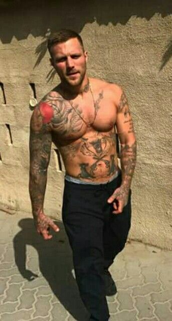 Kontra K | Oh my! | Tatted guys, Hot guys tattoos und ...