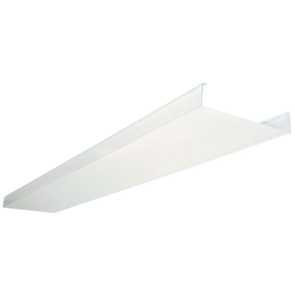 Lithonia Lighting 4 Ft Replacement Lens Dsb48 M4 The Home Depot Fluorescent Light Covers Fluorescent Light Fixture Ceiling Light Covers