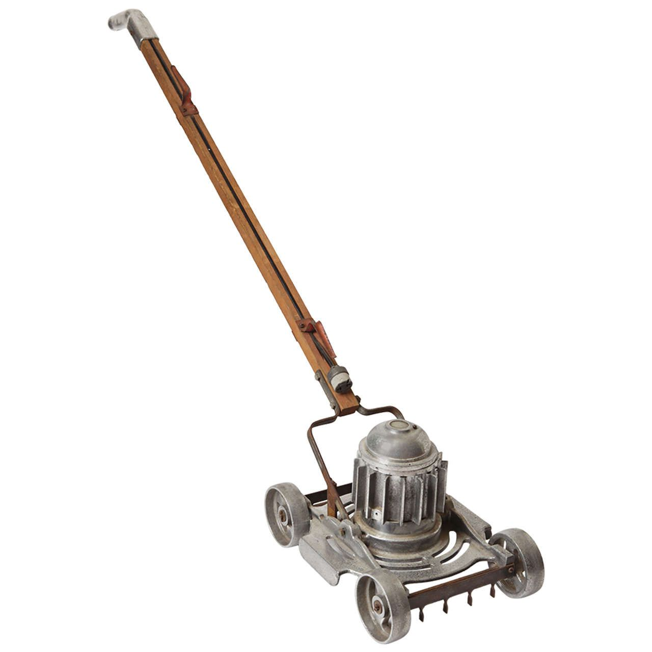 industrial age furniture. Insane Machine Age, Industrial Design, Cast Aluminum Floor Polisher | From A Unique Collection Age Furniture