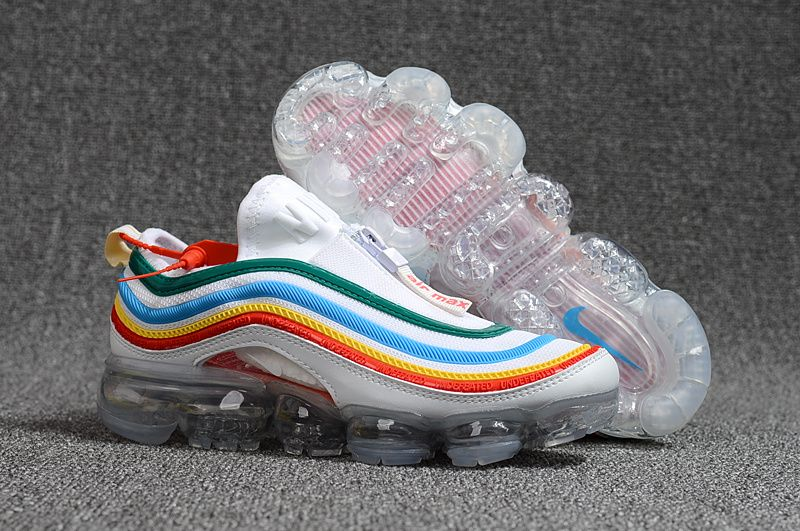 premium selection b1929 8cc2c Nike Air Max 97 VaporMax 2018 KPU White Multi-Color | Nike | Nike ...