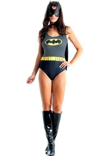 939de72c1d Seja uma super heroína da liga da justiça com a Fantasia Batgirl Body, uma  bonita e confortável fantasia, lançamento 2015. Original DC Comics<br><!