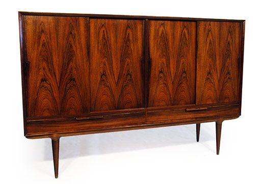 Modern Dark Wood Credenza : Gunni omann rosewood sideboard model # 13 1951 haus in 2018