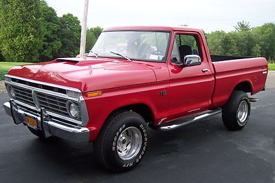 1973 Ford F100 For Sale Craigslist Ford F 100 Base 1973 Ford F100 14 900 Cars Trucks Ford Pickup Ford Trucks