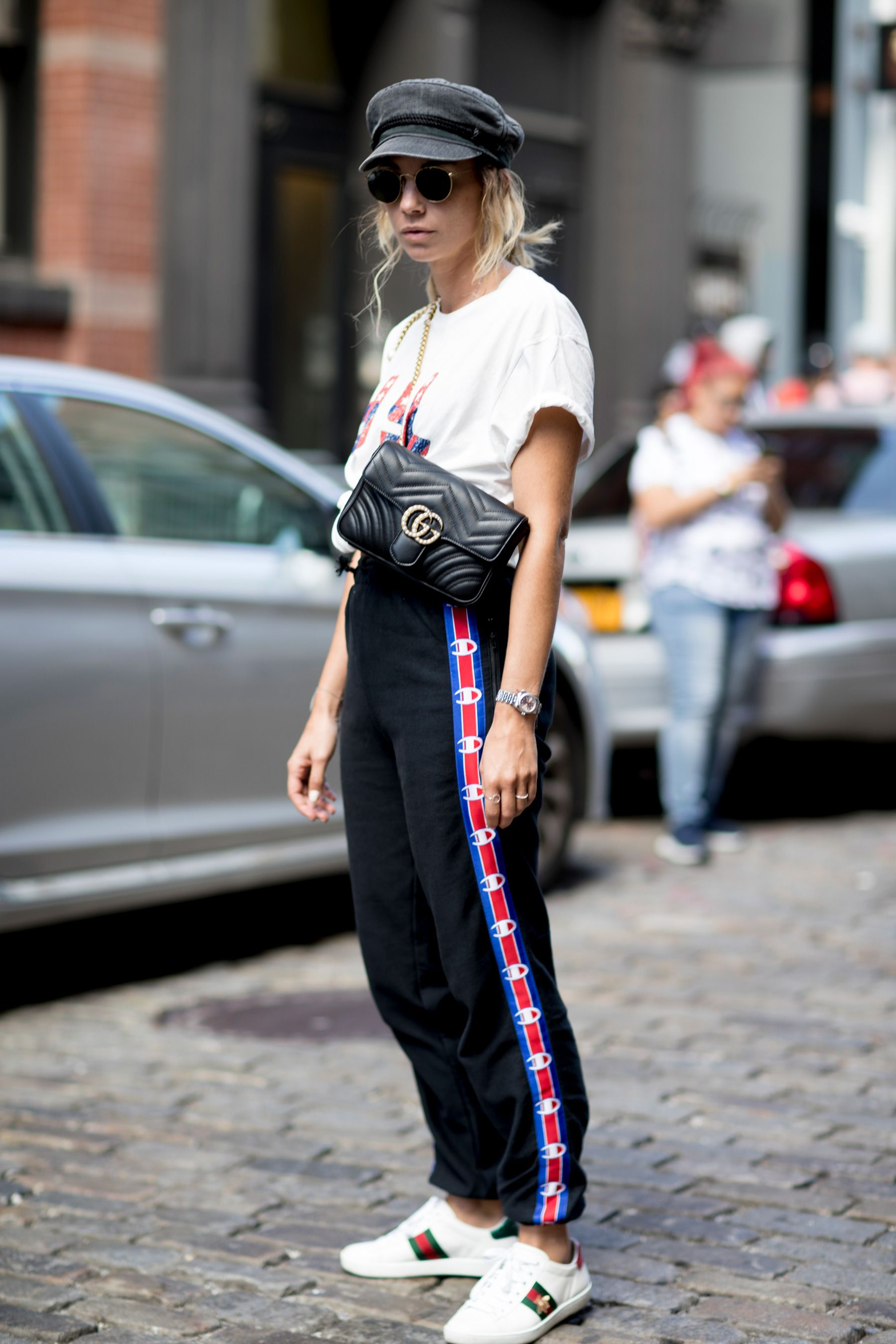 ef810fc0c173 The Best Street Style from New York Fashion Week Street Style Spring ...