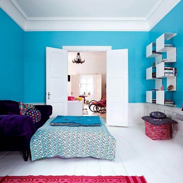 Une maison danoise où couleurs et motifs ont quartier libre - Realiser Un Plan De Maison