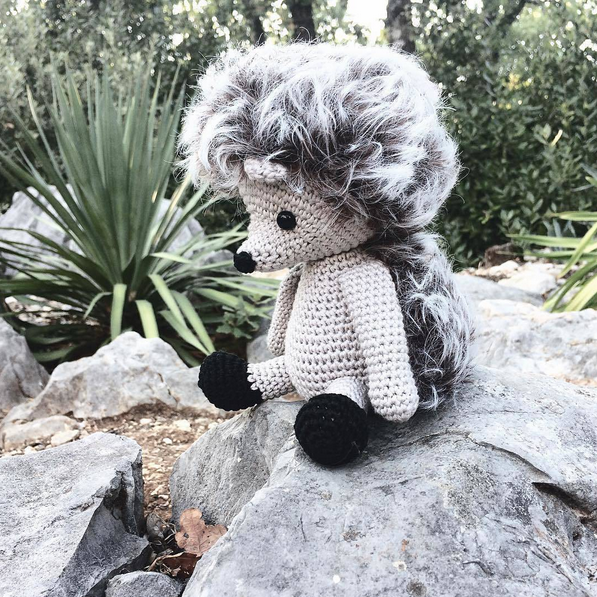 Zoomigurumi 6 - Alvin the hedgehog by Pepika - Amigurumipatterns.net