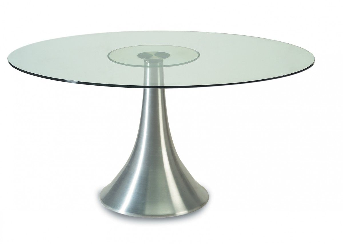 The Luxury Dining Room By Putting 72 Inch Round Glass Dining Table