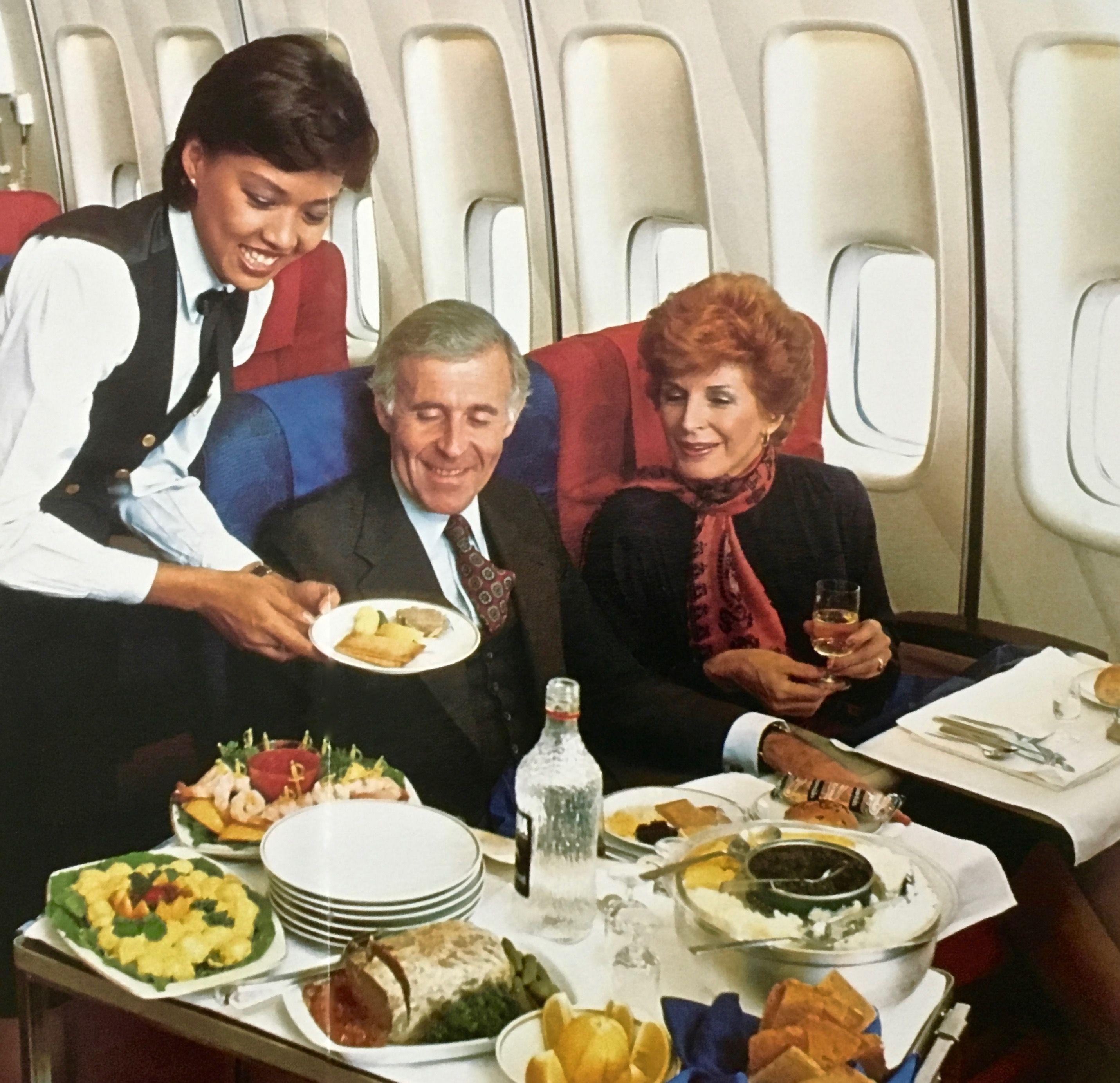 First Class Services First In Class: Pan Am 747 First Class Service