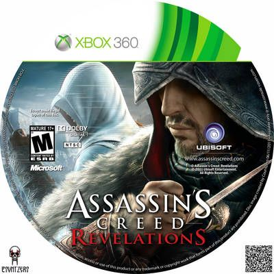 assassins creed revelations cd xbox 360 cover all xbox