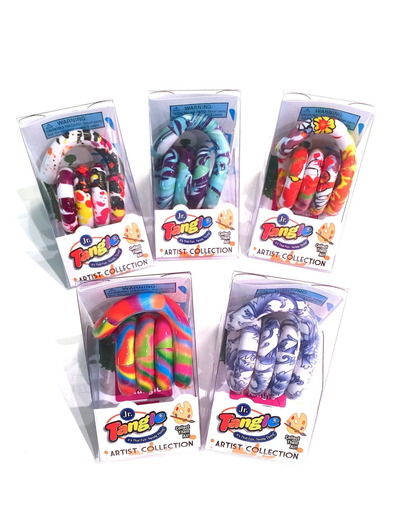 Tangle Artist Collection Tangle Toy Fidget Toys Tangled