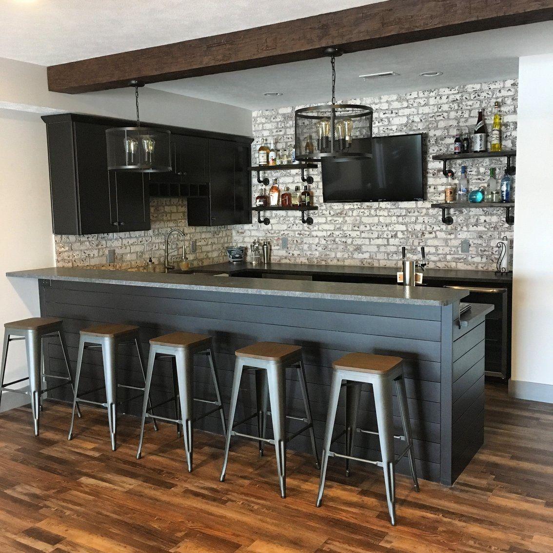 Redefined Pine Rustic Vinyl Flooring Home Bar Rooms Basement Bar Designs Home Bar Designs