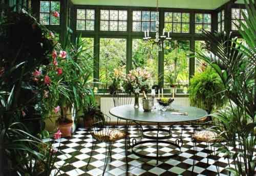 Elegant Aménagez Votre Véranda En Jardin Du0027hiver