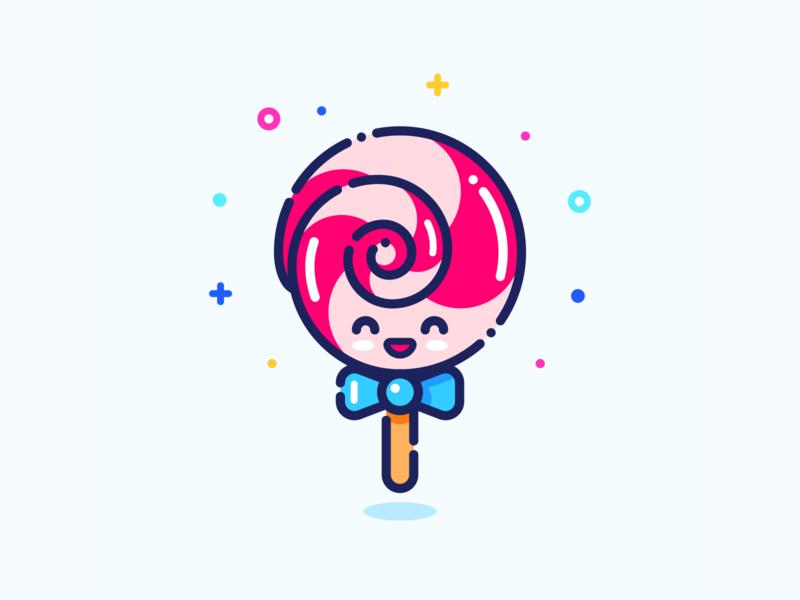 Lollipop Emoji Art Lollipop Sticker Design