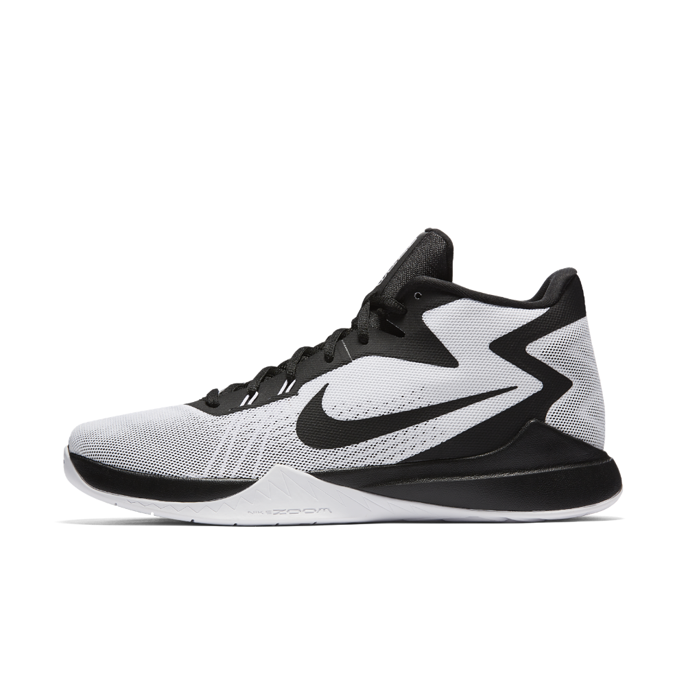 Nike Zoom Evidence Men's Basketball Shoe Size 10.5 (White) - Clearance Sale